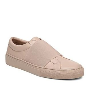 LAST CHANCE COS leather wrap-over leather sneakers